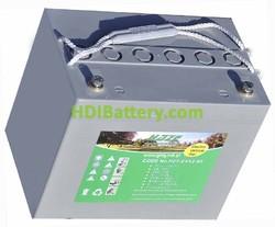 Bateria de gel HAZE 12v 80Ah HZY-EV12-80